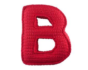 Crochet pattern Letter M 3D pattern Instant Download PDF
