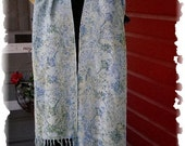 Spring Blossom  Long Rayon Scarf 905