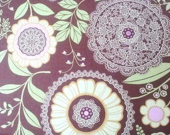 See Shop Announcement for discount code - Lotus Lacework by Amy Butler for Rowan Fabrics - Cotton - 29in x 42in (Remnant)