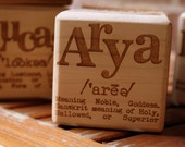 Custom Baby Blocks- Personalized Nursery or Shower Gift