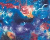 """New Print Blues Galaxy PUL Fabric Diaper Cut 18x20"""""""