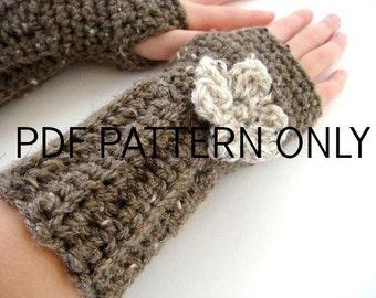 Frilly Wrist Warmer PDF Crochet PATTERN size range 2T to Adult