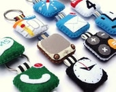 Icon Felt Keychains ( 3 to 5 pieces of your Choice )