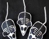 Skelly Mice Skeleton Mouse Cat A Tonic Organic Catnip Toy