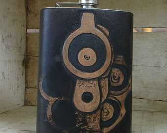 Dead to Rights Stainless Steel Flask
