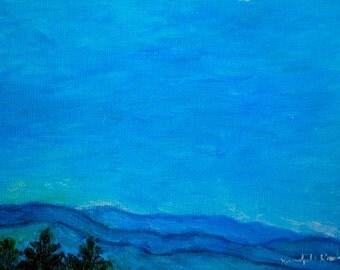 Small Gem Oil Paintings Art 7x5 Impressionist Oils by Award Winning Artist Kendall Kessler