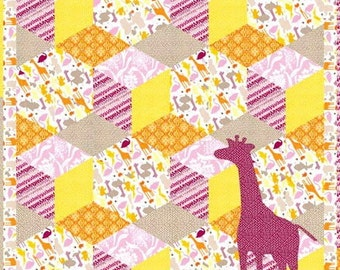 Kate Spain Central Park Quilt Pattern featuring Moda Fabrics