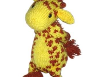 Baby GIRAFFE Pdf Email Knit PATTERN