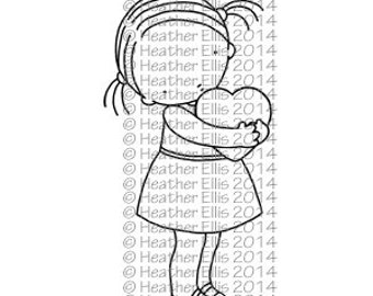 Pure Innocence 055 - Digi stamp