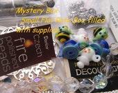 Bead Soup Jewelry craft supplies charms mixed bag destash