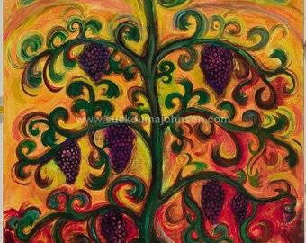 The Vine - Catholic Artwork - Christian Art - Religious Art - Fine Art Print