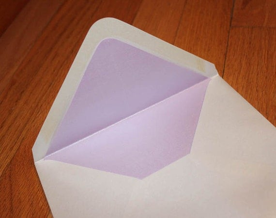 a7 5 outer envelope liners in metallic stardream kunzite