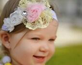 Toddler Headband,  Toddler Hair Band, Flower Headband, Girls Hairbands, Little Girls Hair Bows, Hair Bows For Sale, Easter Headband