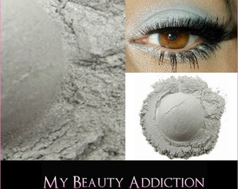 Clearance-Silver Mineral Eyeshadow 'Frost'