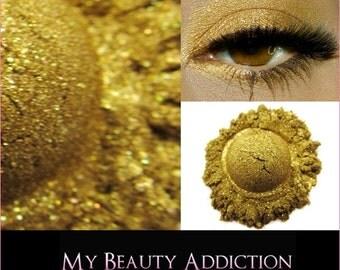 Loose Mineral Eyeshadow-Pharoah's Gold-Twinkle FX