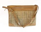 Vintage Hartmann Tweed Tote Overnight Carry-On Bag