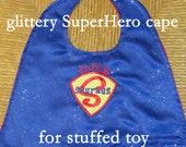 SuperHero Cape for stuffed toy