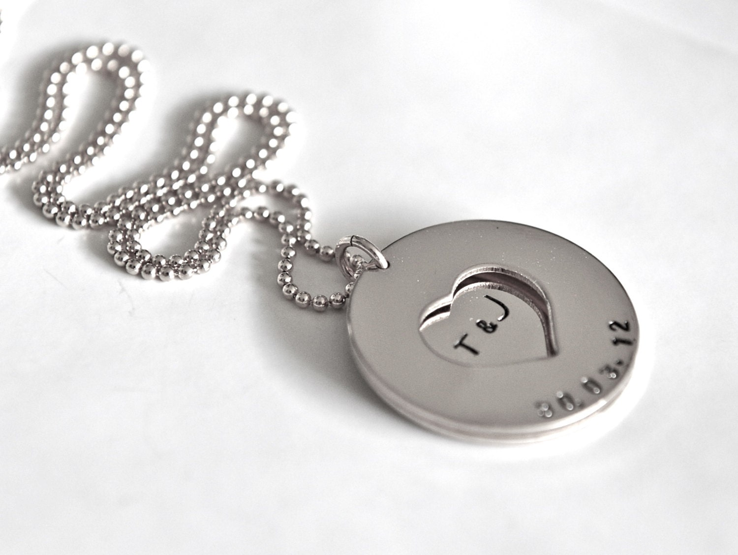 Silver Wedding Gift: Anniversary Gift Wedding Date Sterling Silver By