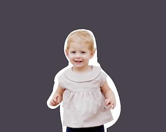 the MINI MAIA dress pdf pattern size 18M to 10