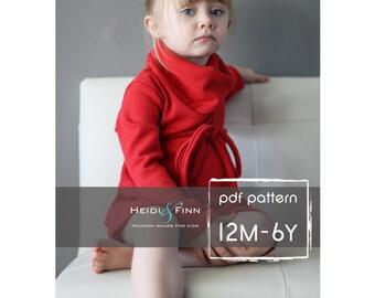 Cowl Neck Knitting Pattern - ShopStyle