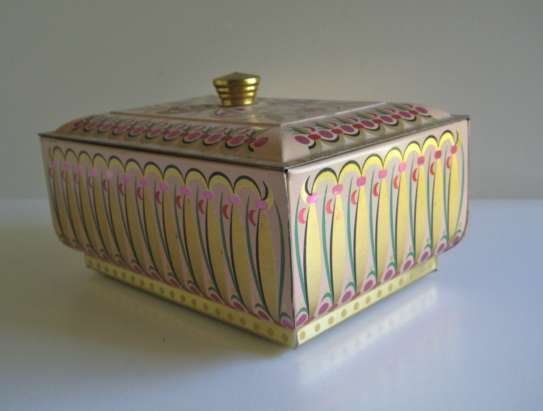 Decorative Metal Boxes With Lids : Item details