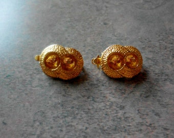 Vintage Clasps- Gold Plated- Mint Stock- Vintage 1960's- Set of 2