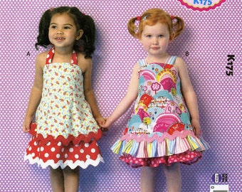 Sunshine Sundress Pattern for Toddlers Sizes 1-4 Ellie Mae Designs Sundress