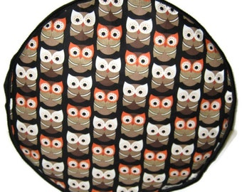 Owls Pouffe Foot Rest Floor Cushion Pouf