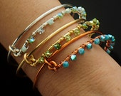 1 Bold Bedazzled Bangle Kit with Swarovski Crystals