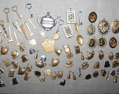 Large lot of 115 Alice in Wonderland/Through the Looking Glass Charms