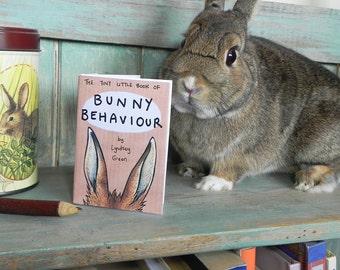 The Tiny Little Book of Bunny Behaviour - Illustration Mini Zine