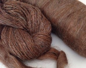 Alpaca Blend Roving  - Morning Mocha