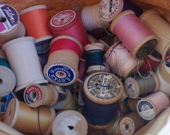 Vintage Thread Spools 25