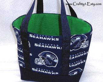 Small Tote - NFL - Seattle Seahawks (Blue)