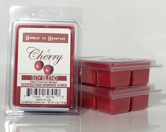 Cherry Scented Wax Cubes - soy wax melts
