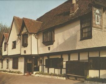 Bell Inn, Hurley, Berkshire, Plate 91, English Heritage, England Photograph, Vintage Print, 1957