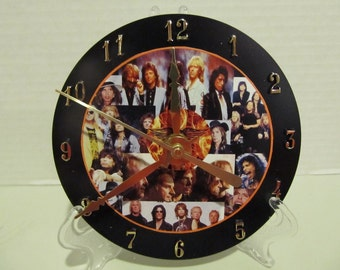 Aerosmith CD clock