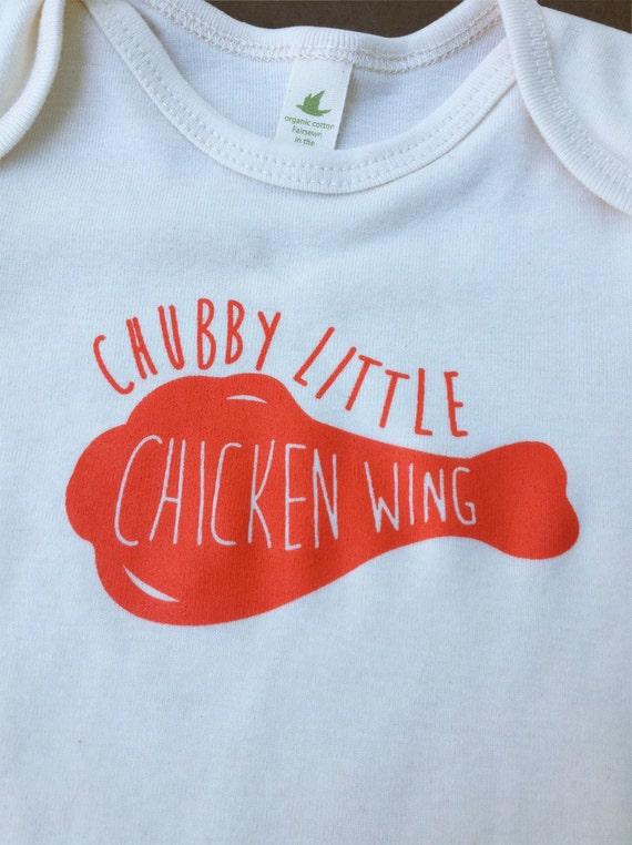 Chubby Little Chicken Wing One-piece 9-12 month by jodiwroblewski