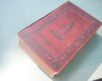 Antique Religious Legends Book / German / 1890
