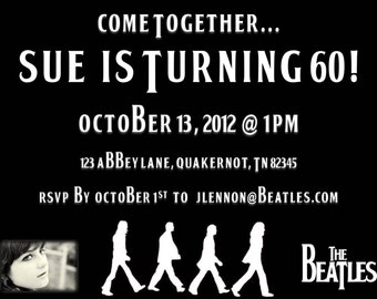 The Beatles Invitation - Digital Download