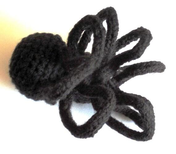 Amigurumi Spider Pattern : PDF Crochet Amigurumi Animal Pattern: Black Widow Spider ...