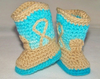 Baby Cowboy Boots - Cowgirl Boots - Infant Cowboy Boots - Western Baby Boots - Handmade Baby Western Boots - Western Wear Photo Prop