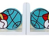 Sport Bookends for boys by Pookie Boutique