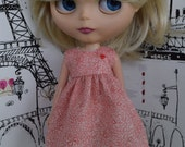 Tiny Hearts Babydoll Dress for Blythe
