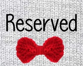 Reserved listing for assyla89