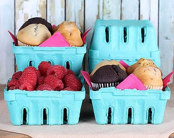Small Berry Baskets, Farmer's Market Baskets, Muffin Baskets, Cookie Baskets, Candy Baskets, Mini Easter Baskets, Half Pint Baskets (8)