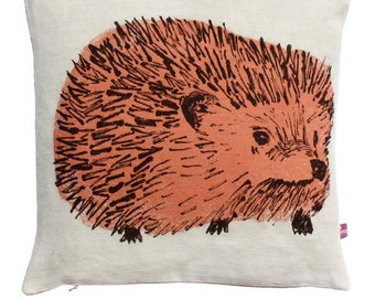 Hedgehog Junior Cushion - Pink