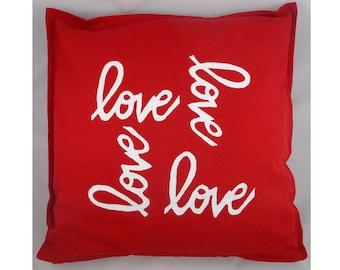 Spread the Love Decorative Pillow Cover