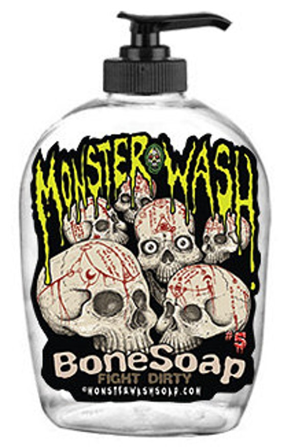 Bone Soap! Horror Themed, Collectible Soap Dispensers
