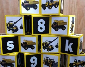 Tonka Truck Building Blocks